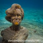 Sylvia Earle Statue in Cozumel Mexico